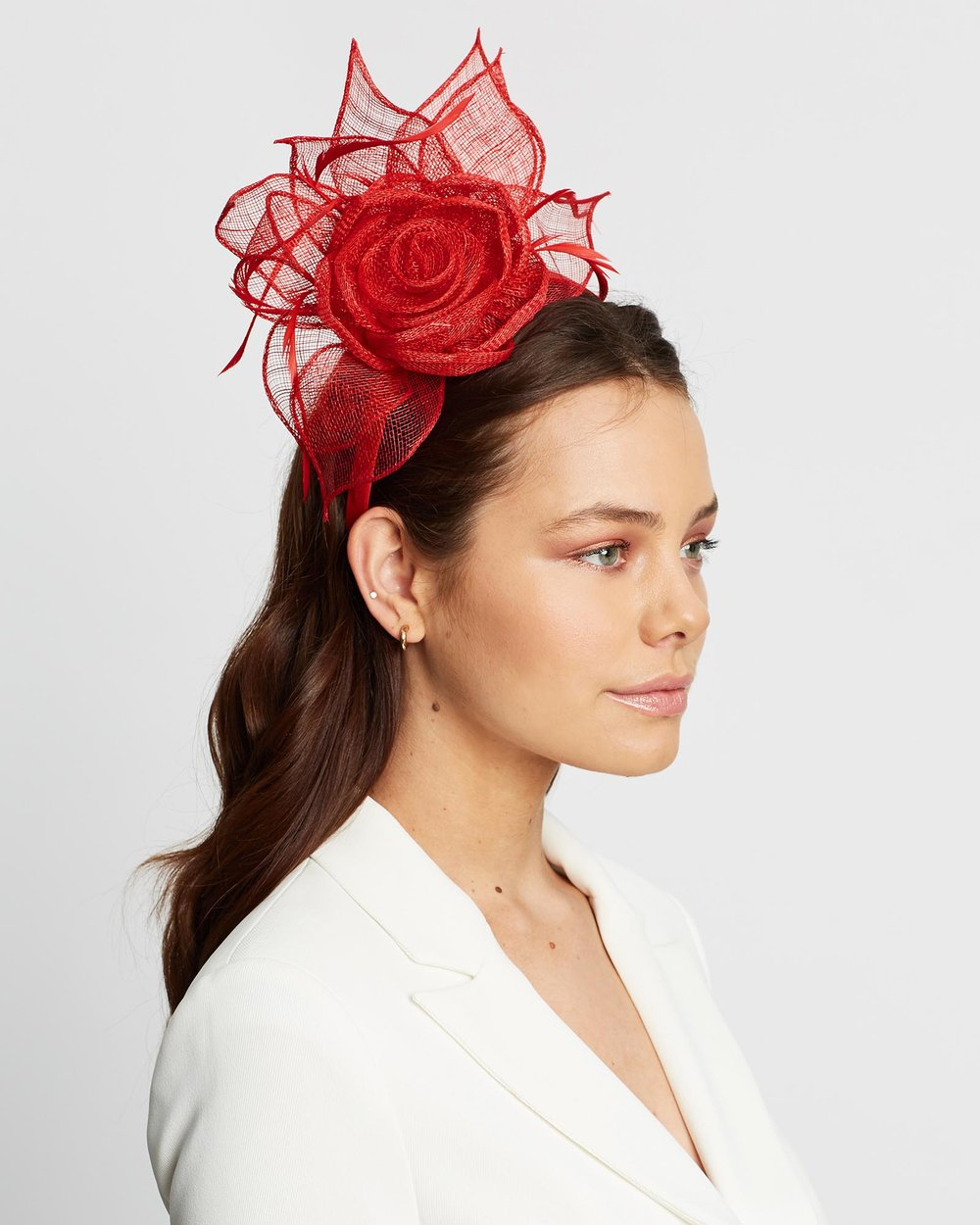 large discount best place best website Large Sinamay Flower Fascinator by Max Alexander Online | THE ...
