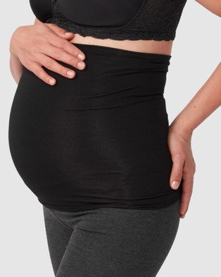 Pea in a Pod Maternity Essential Maternity Belly Band - Underwear (Black)