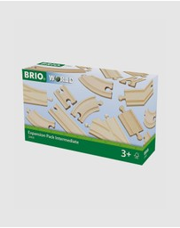 BRIO - Tracks - Expansion Pack Intermediate 16 Pieces