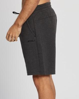 2XU Commute 9 Inch Shorts - Shorts (Charcoal Marle & Black)