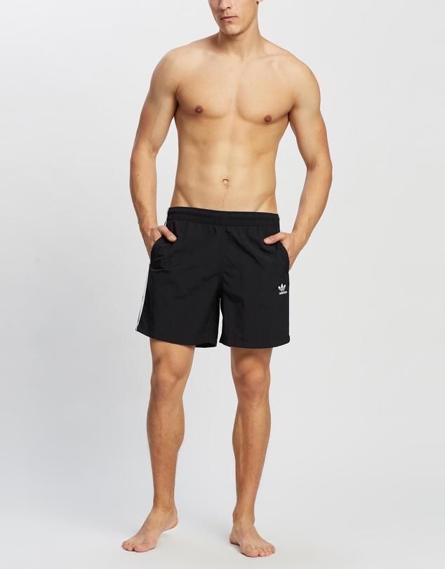 Men Adicolor Classics 3-Stripes Swim Shorts