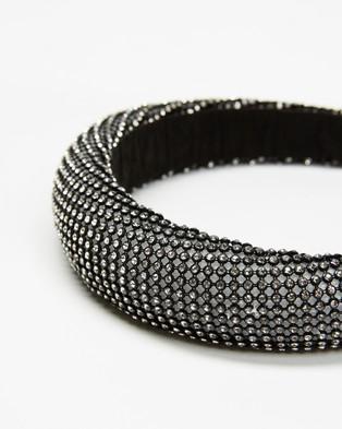 Morgan & Taylor Casey Headband - Hair Accessories (Black)