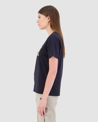 Huffer - Women's Stella Tee Echo - T-Shirts & Singlets (Blue) Women's Stella Tee-Echo