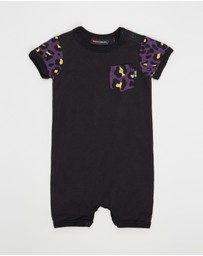 Rock Your Baby - Hey Joe Short Sleeve Playsuit - Babies