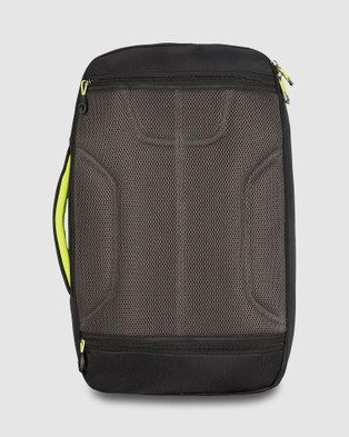 High Sierra AT8 Convertible Carry On - Backpacks (Black & Zest)