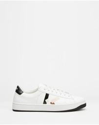 Kenzo - K-Logo Lace-Up Sneakers - Women's
