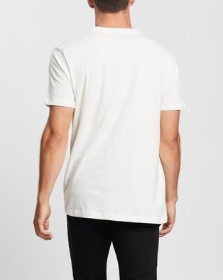 Lee Word Art Tee - T-Shirts & Singlets (Vintage White)