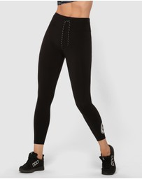 Lorna Jane - Logo Print Ankle Biter Tights