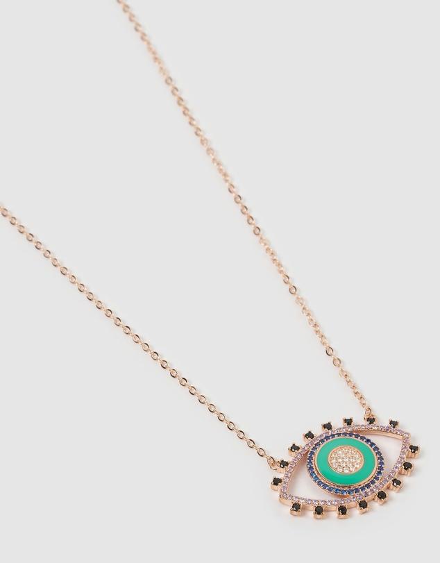 Women Lucy Eye Necklace