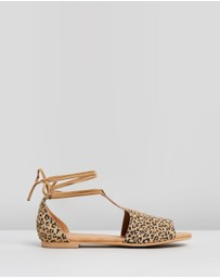 Walnut Melbourne - Violet Sandals