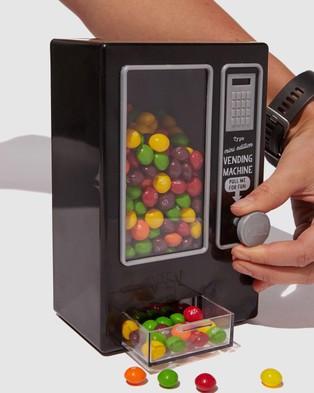 Typo Mini Vending Machine - All toys (Black)