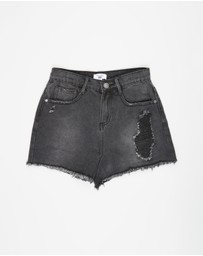 Free by Cotton On - Sully Denim Shorts - Teens