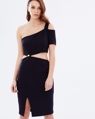 Finders Keepers – Latrobe Dress – Bodycon Dresses (Black)