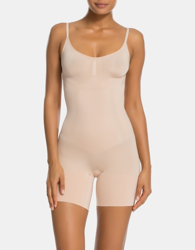 Spanx - Oncore Mid-Thigh Bodysuit