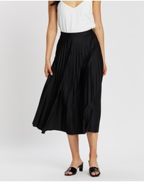 Dorothy Perkins - Jersey Pleated Midi Skirt