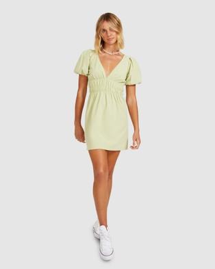 Dont Ask Amanda Sadie Mini Dress - Dresses (GREEN)