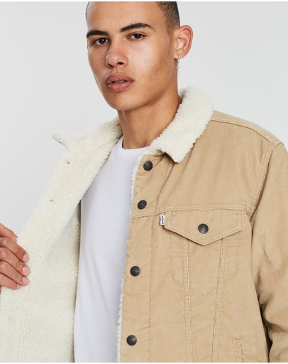 Levi's Type 3 Sherpa Trucker Chino Cord Better