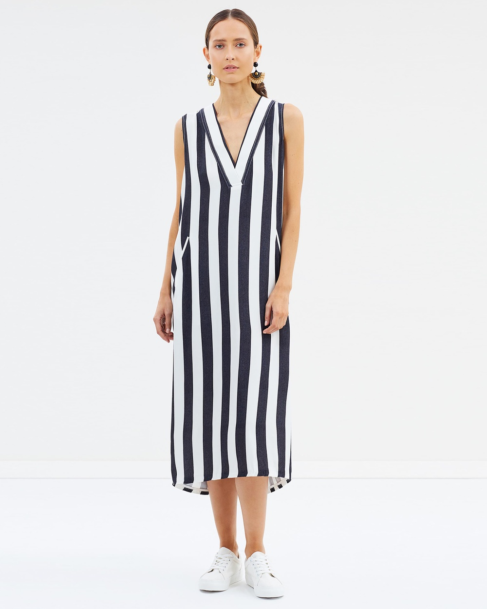HOPE Core Dress Dresses Black Stripe Core Dress