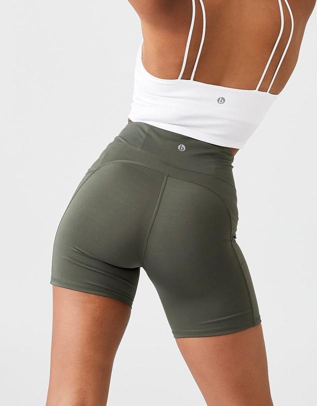 Women Contouring Bike Shorts