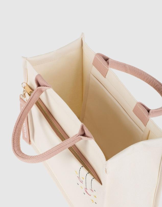 Women Sky Full of Stars Blush Tote Bag