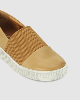 Eos - Jude Slip-On Sneakers (Brown)