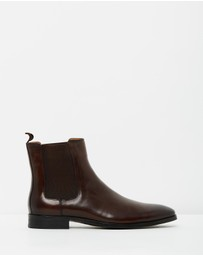 Double Oak Mills - William Leather Gusset Boots
