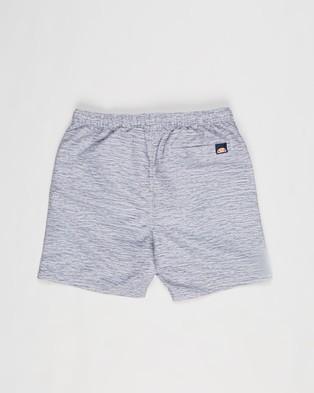 Ellesse - Bervios Swim Shorts Teens Swimwear (Grey Marle)