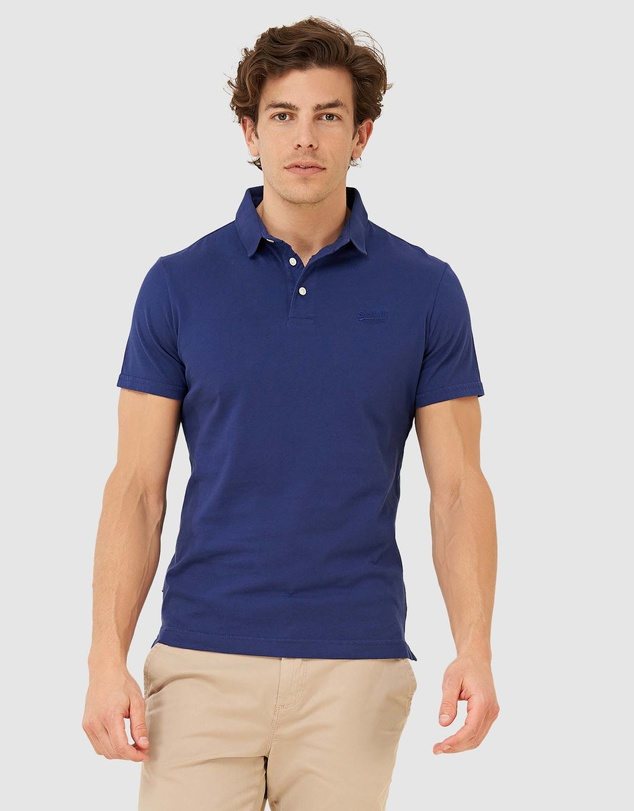 Superdry - Orange Label Jersey Polo