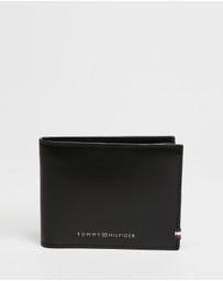 Tommy Hilfiger - Polished Leather Mini Credit Card Wallet