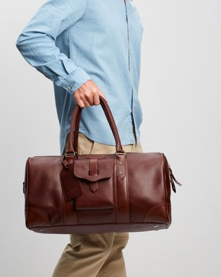 R.M.Williams The Signature Overnight Bag Duffle Bags Whiskey