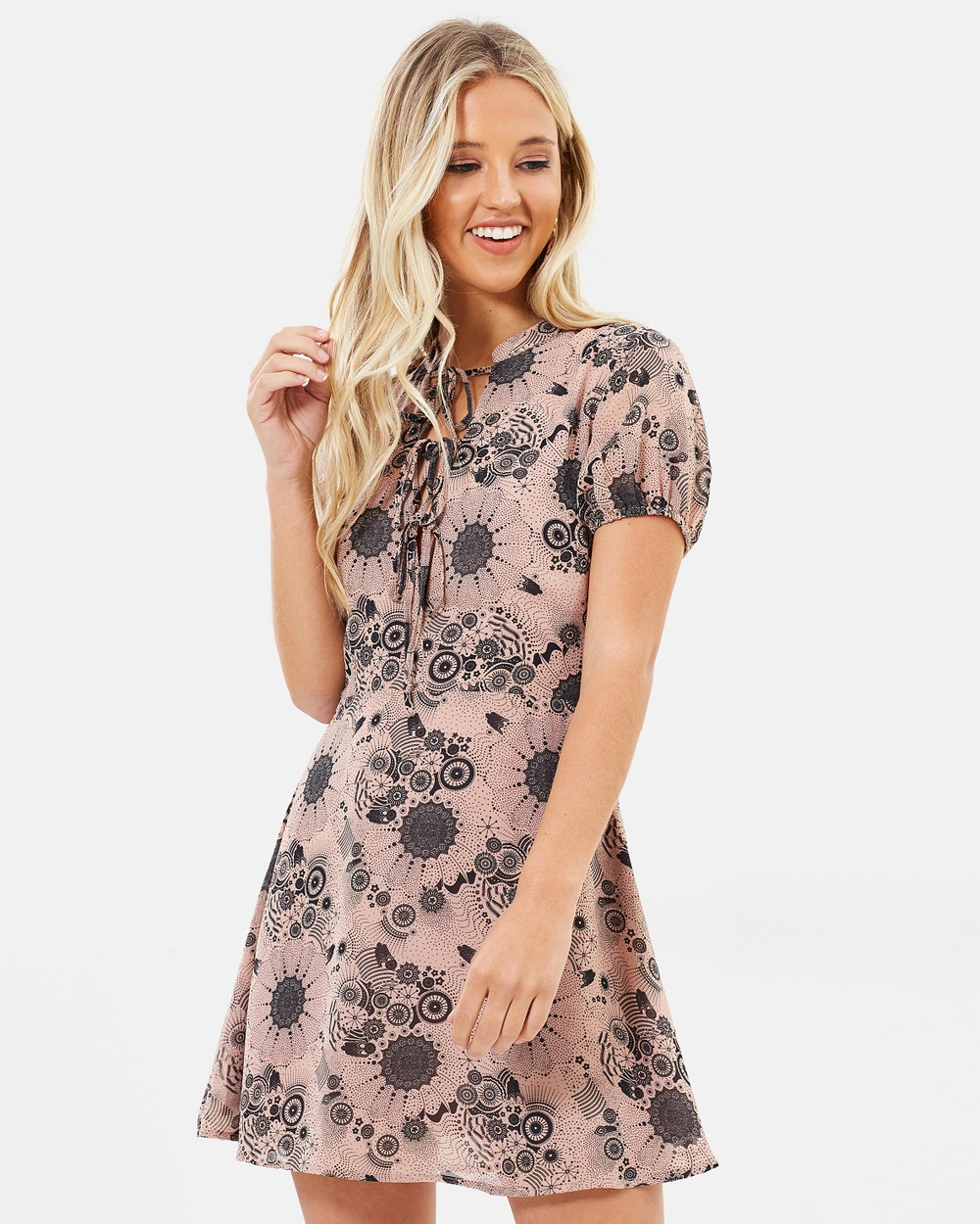 Dazie Celestial Nights Dress Printed Dresses Celestial Nights Celestial Nights Dress