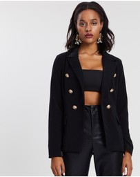 Missguided - Military Blazer