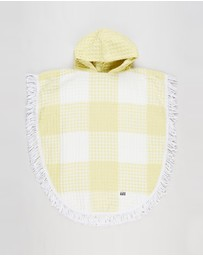 Cotton On Kids - Waffle Hooded Towel - Kids