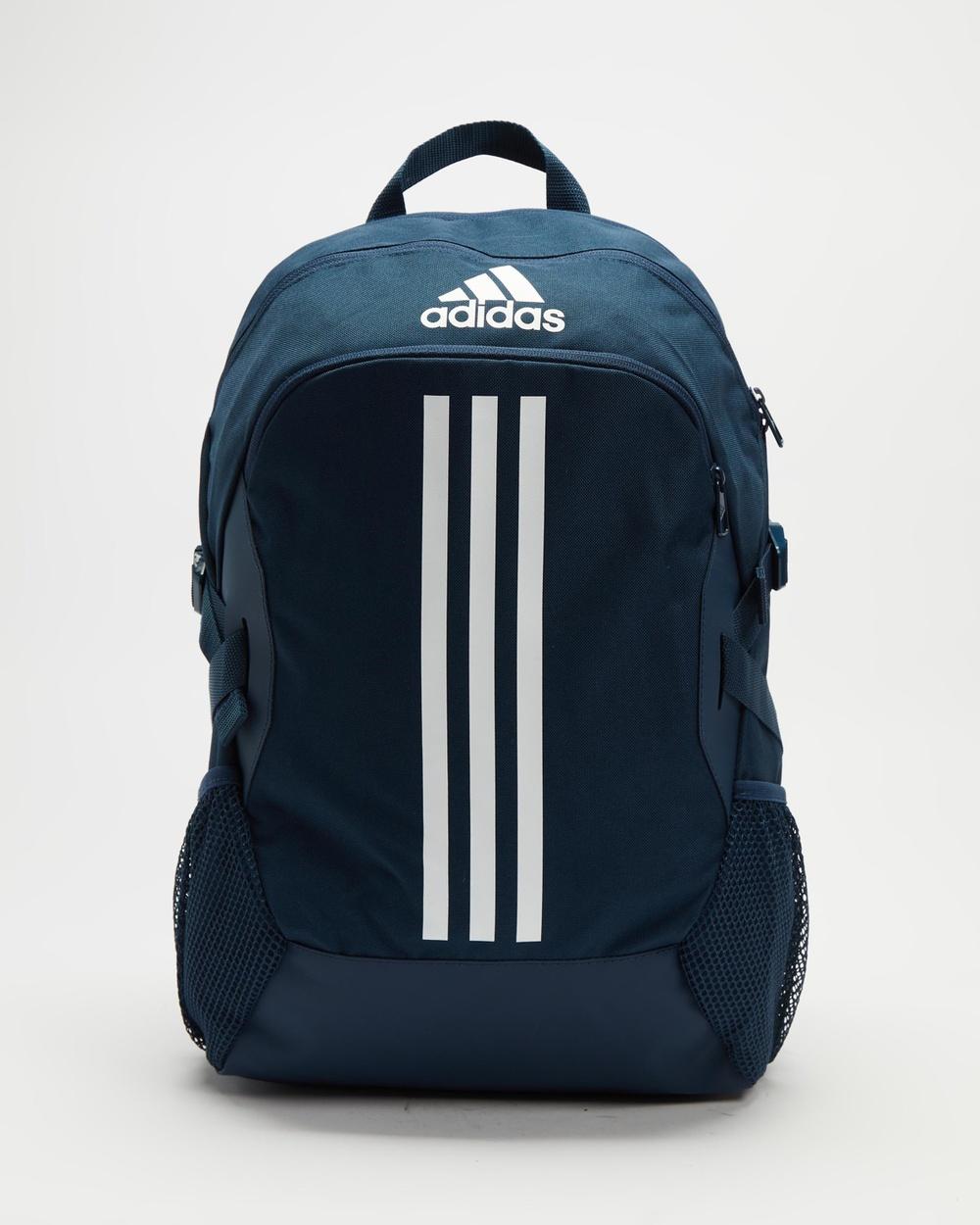 adidas Performance Power 5 Backpack Backpacks Crew Navy & White