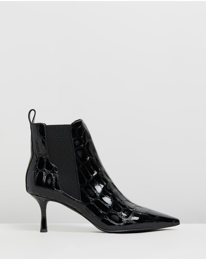 Senso - Qilla Croc Leather Ankle Boots