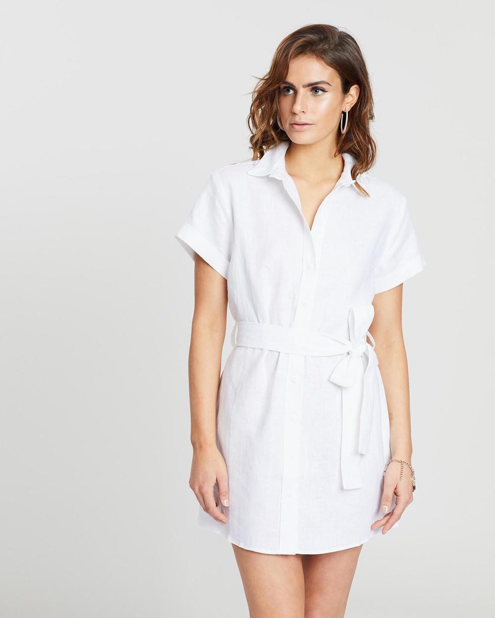 White By FTL White Layne Dress