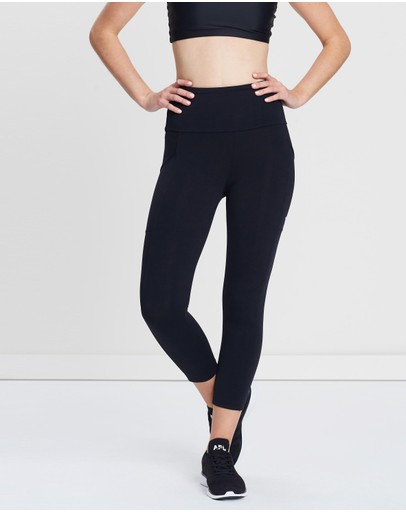 Running Bare - Ab-Waisted Power Moves 7/8 Tights