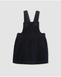 Milky - Velour Pinafore - Kids