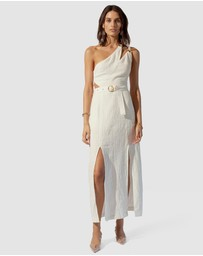 Suboo - Kaia Asymmetrical Midi Dress