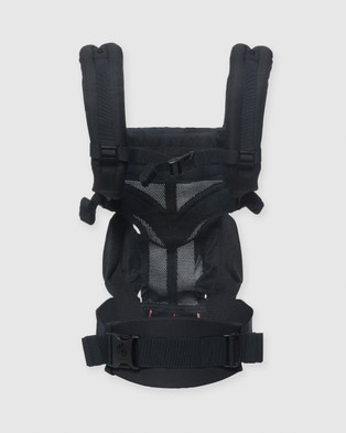 Ergobaby Ergobaby Omni 360 Cool Air Mesh Carrier - All Baby Carriers (Onyx Black)