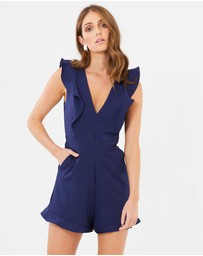 CHANCERY - Rosie Frill Playsuit