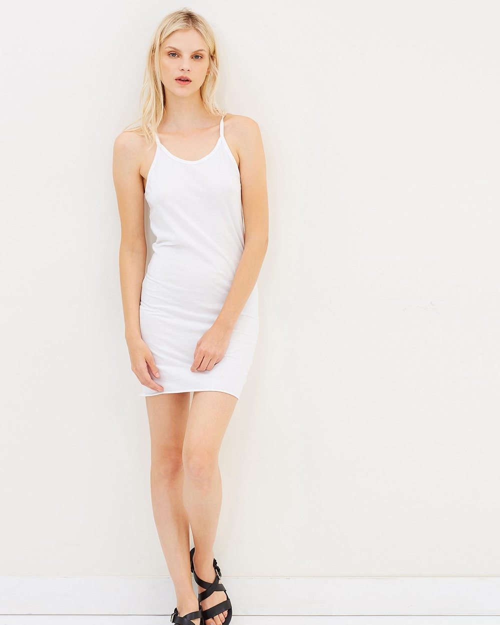 Surrounded By Ghosts The Annite Singlet Dress Dresses White The Annite Singlet Dress
