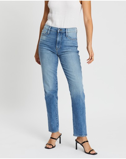 Frame Denim Le Sylvie Slender Straight Jeans Alamitos