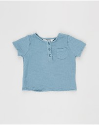 Cotton On Baby - Tate Short Sleeve Shirt - Babies