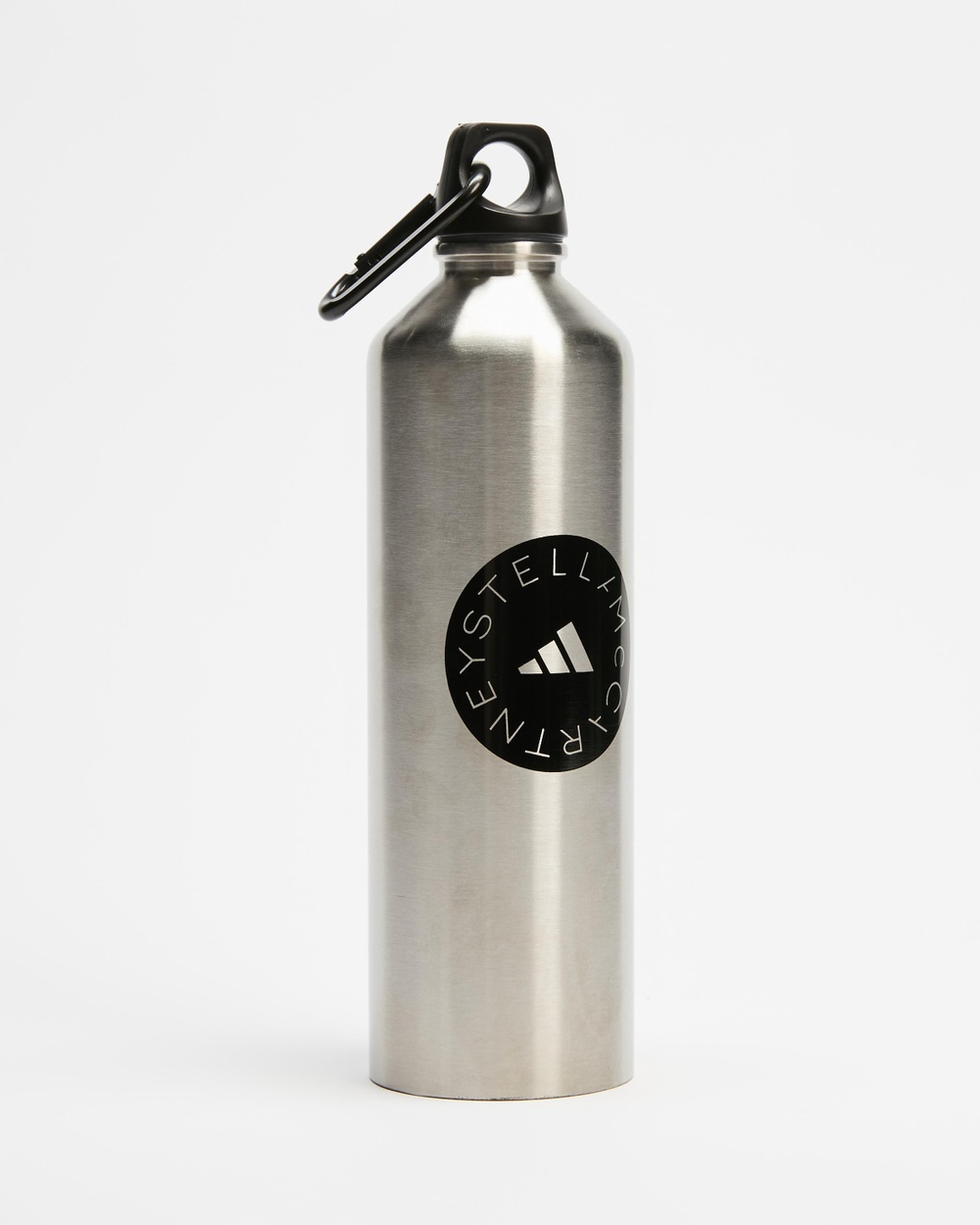 adidas by Stella McCartney ASMC Bottle Water Bottles Matte Silver & Black
