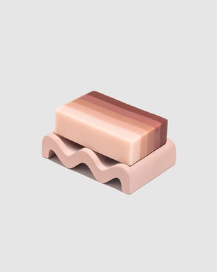 Fazeek Wave Soap Dish Dusty Pink - Beauty (Dusty Pink)