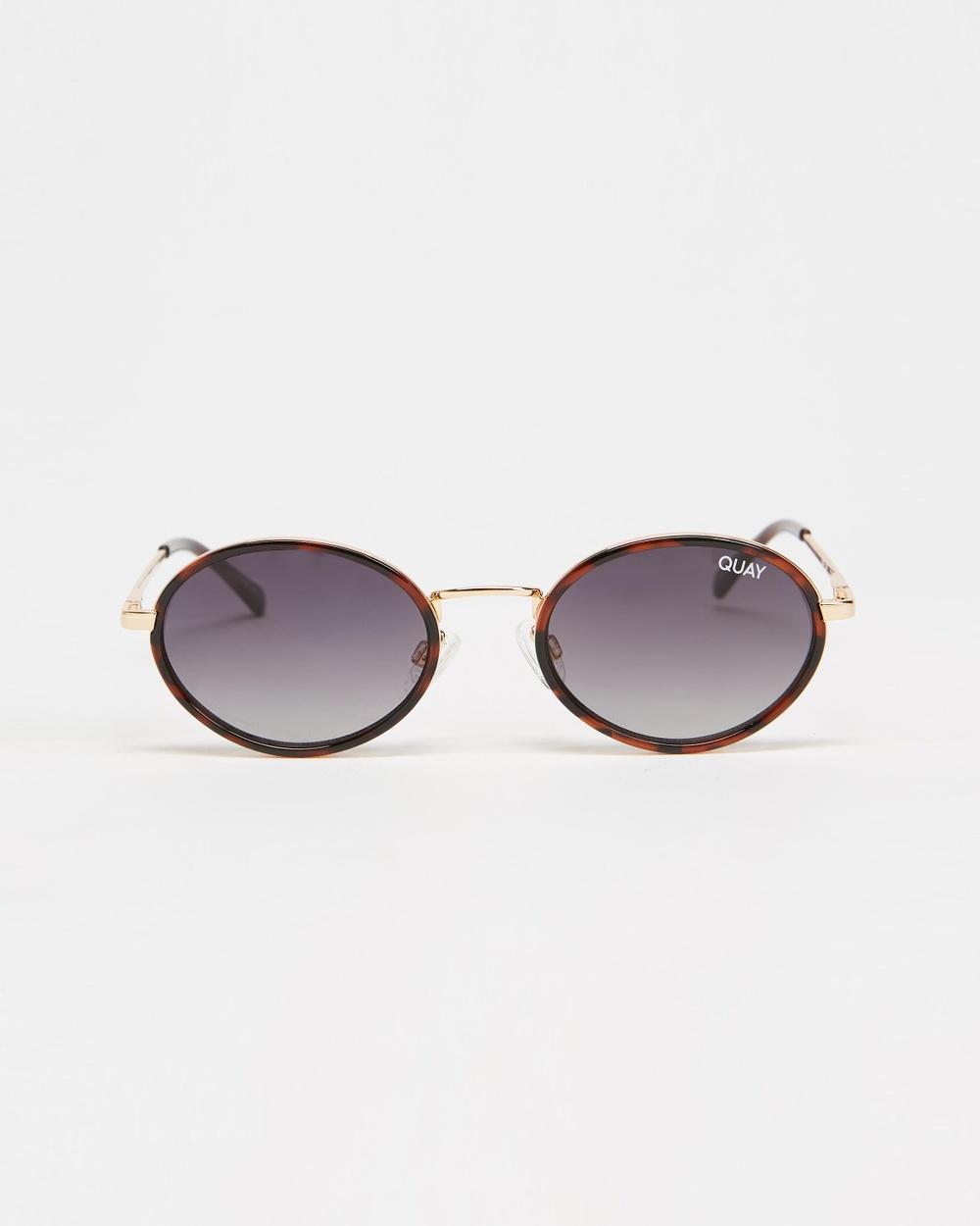Quay Australia Line Up Sunglasses Tort & Smoke Lens