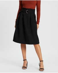 Forcast - Leighton Buckle Skirt