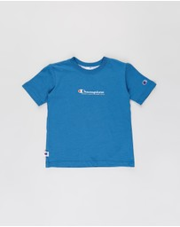 Champion - Jersey Script Tee - Kids-Teens