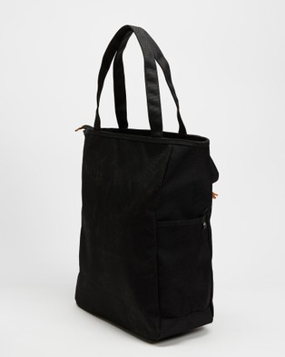 Harvest Label Lycee Style Tote Portrait - Bags (Black)